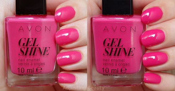 rose parfait avon gel finish moroccan ladydee