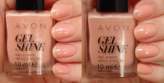 splendeur rose avon gel finish moroccan ladydee