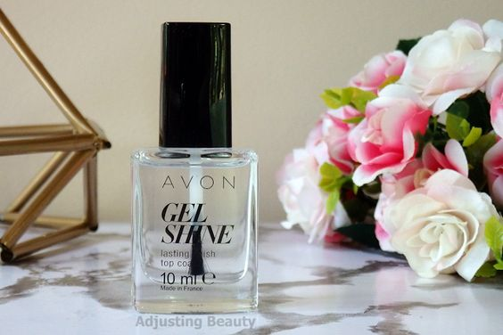 top coat gel finish avon nail moroccan ladydee
