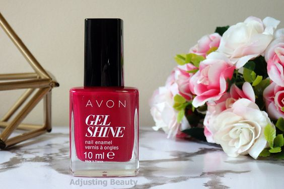tres baie vernis avon gel finish moroccan ladydee