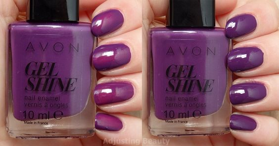 violet delicieux avon gel finish moroccan ladydee